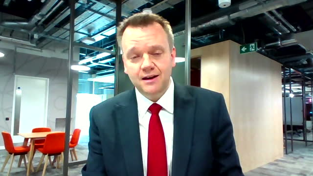 shadow home secretary nick thomas-symonds saying the 'amber list' countries should be shifted on to the 'red list' in the government's coronavirus... - road signal stock videos & royalty-free footage