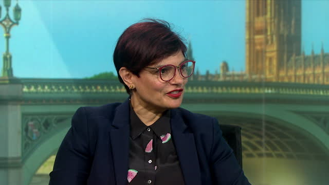 shadow leader of the house of commons, thangam debbonaire saying workers should be considered when deciding to end compulsory wearing of facemasks - the end stock videos & royalty-free footage