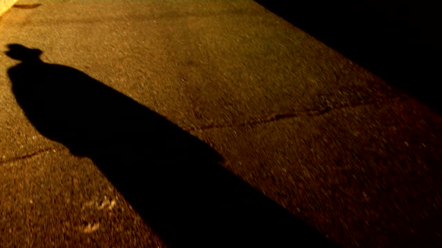 Shadow Man walking color