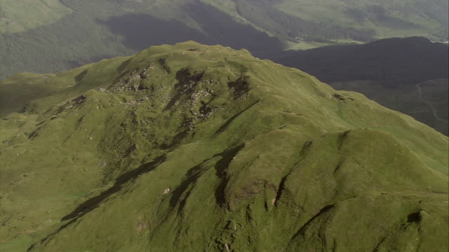 shadows fall on the igneous intrusions of the scottish highlands. available in hd. - igneous stock videos and b-roll footage
