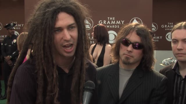 shadows fall on their nomination for best metal peformance on predicting the album would be a success and on being at the grammys for the first time... - awards ceremony stock videos and b-roll footage
