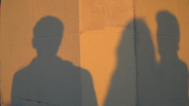 Shadows of Talking People