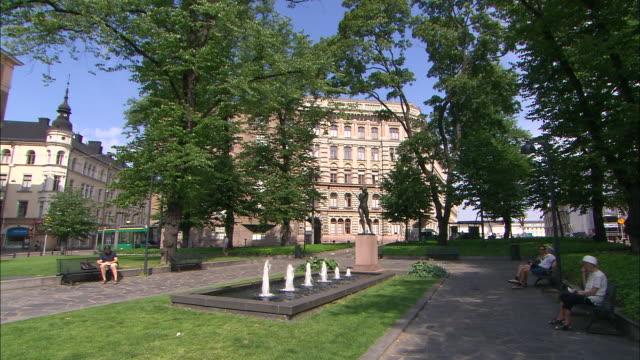 Shady Fountain, Helsinki, Finland
