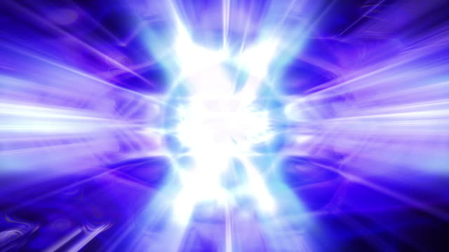 shafts of light flicker and shine (loop). - 無限点の映像素材/bロール