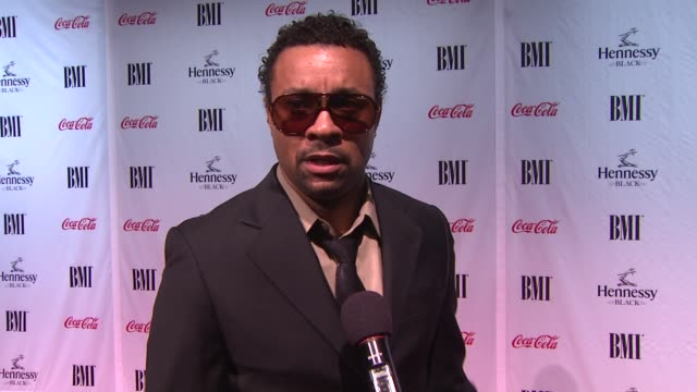 shaggy burrell on what brings him out at the 9th annual bmi urban music awards at new york ny. - 歌手 シャギー点の映像素材/bロール