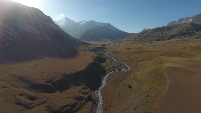 shahdag (caucasus) - azerbaigian video stock e b–roll