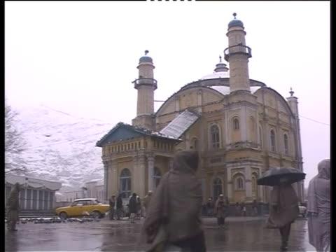 shahdo shamshira mosque in kabul - bbc stock videos & royalty-free footage