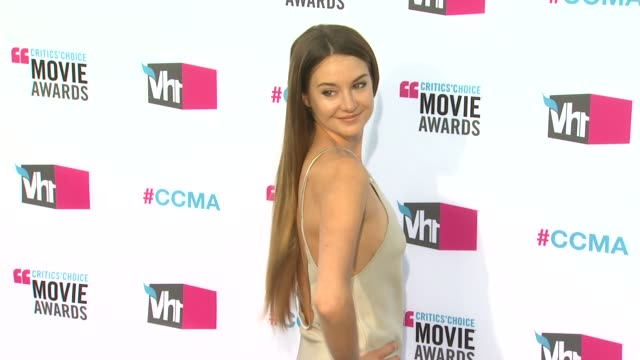Shailene Woodley at 17th Annual Critics' Choice Movie Awards on 1/12/12 in Hollywood CA