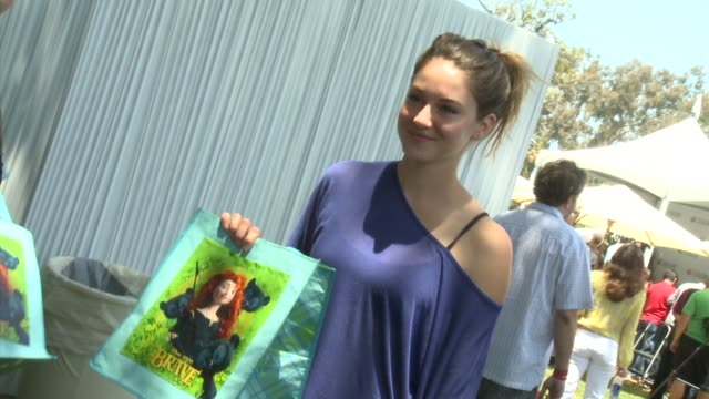 Shailene Woodley at 23rd Annual 'A Time For Heroes' Celebrity Picnic Benefiting The Elizabeth Glaser Pediatric AIDS Foundation on June 03 2012 in Los...