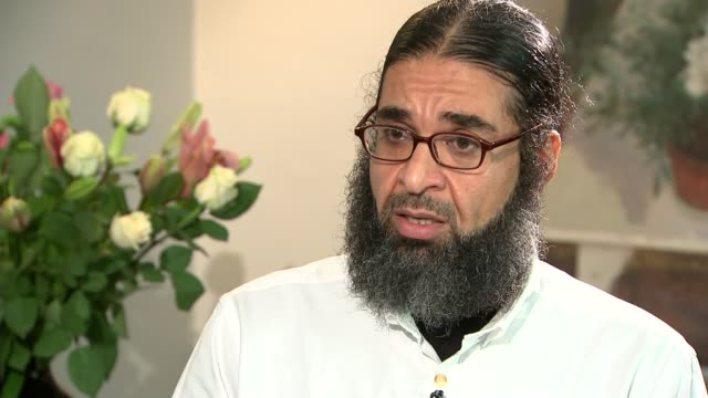 london int shaker aamer interview sot it was every sense of demeaning torture it's a pure torture i've been kept for nine days awake i was standing... - shaker aamer stock videos & royalty-free footage