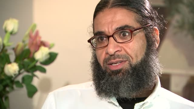 reunited with family shaker aamer interview sot so i was calling him you know the name of the elder one and he's looking at me like he doesn't even... - shaker aamer stock videos & royalty-free footage