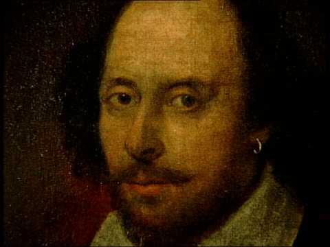 Shakespeare portraits on display at National Portrait Gallery ***CLEAR BEFORE Portrait of William Shakespeare owned by the National Portrait Gallery...