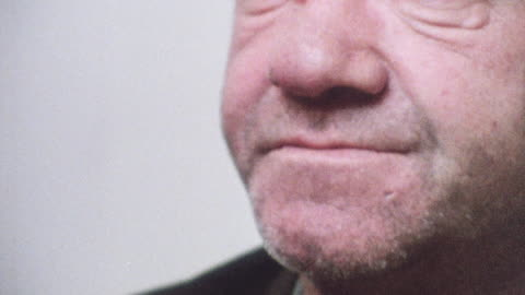 1981 montage shaking drunkard taking pills in rehab facility / united kingdom - 1981 stock videos & royalty-free footage