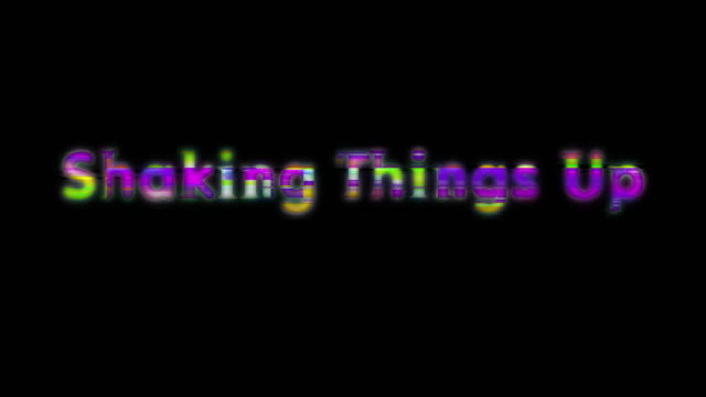 shaking things up scan line words - shaking stock videos & royalty-free footage