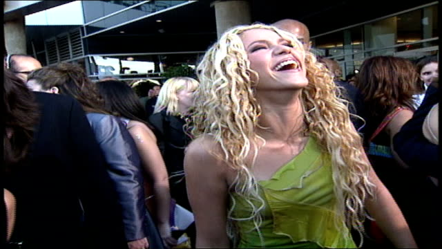 shakira at the latin grammys in los angeles california - 2000 stock videos & royalty-free footage