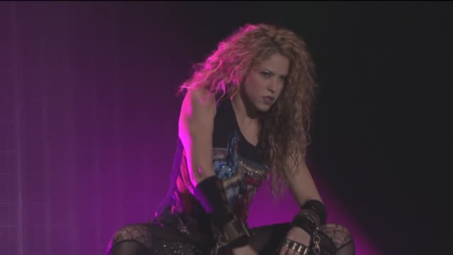 Shakira performs at Vodafone Park Stadium as part of her El Dorado World Tour on July 11 2018 in Istanbul Turkey