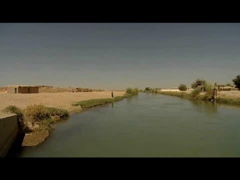 shamalan canal afghanistan 10 september 2009 - 2001年~ アフガニスタン紛争点の映像素材/bロール