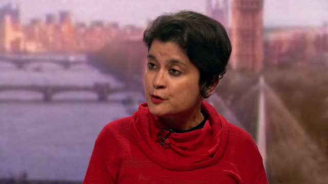 shami chakrabarti saying boris johnson has to compromise in the national and international interest if he wants labour's support for a brexit deal - hobbies stock videos & royalty-free footage