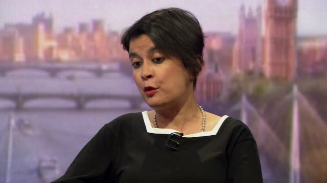 """shami chakrabarti saying whilst 52% of the country voted for brexit, they didn't vote for the """"bureaucratic fudge"""" put forward by theresa may - bureaucracy stock videos & royalty-free footage"""