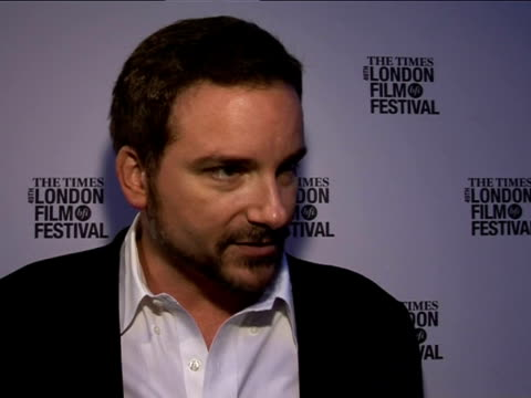 shane black on working with robert downey jr and val kilmer at the the times bfi london film festival 2005 - kiss kiss bang bang on october 28, 2005. - val kilmer stock videos & royalty-free footage