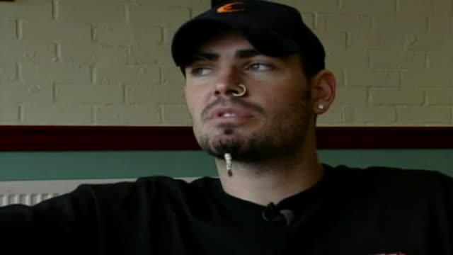 stockvideo's en b-roll-footage met shane lynch interview as it featured in the men motors show shane's world - boyzone