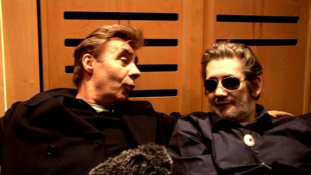 shane macgowan interview sot explains that casting a spell doesn't mean a bad spell it means casting a spell because i love you glen matlock... - quincy jones stock videos & royalty-free footage