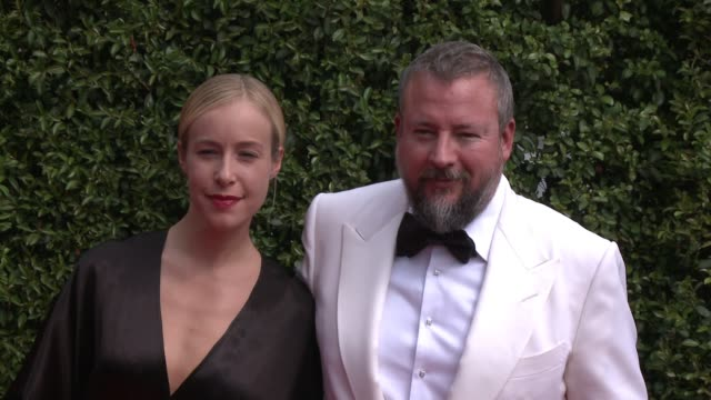shane smith and tamyka smith at the 2015 creative arts emmy awards at microsoft theater on september 12 2015 in los angeles california - emmy awards stock-videos und b-roll-filmmaterial