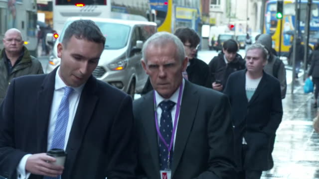 shane sutton former head coach for british cycling and team sky arrives for medical tribunal of the team's former doctor dr richard freeman - drug abuse stock videos & royalty-free footage