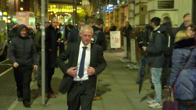 shane sutton former head coach for british cycling and team sky leaves medical tribunal of dr richard freeman after walking out of it - drug abuse stock videos & royalty-free footage