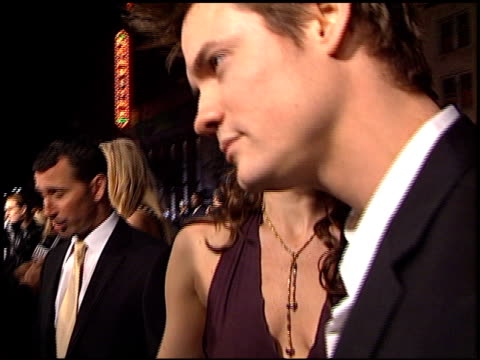 Shane West at the 'A Walk To Remember' Premiere at Grauman's Chinese Theatre in Hollywood California on January 23 2002