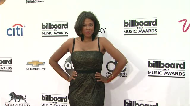 Shaneen Quarles at the 2014 Billboard Music Awards Arrivals at the MGM Grand Garden Arena on May 18 2014 in Las Vegas Nevada
