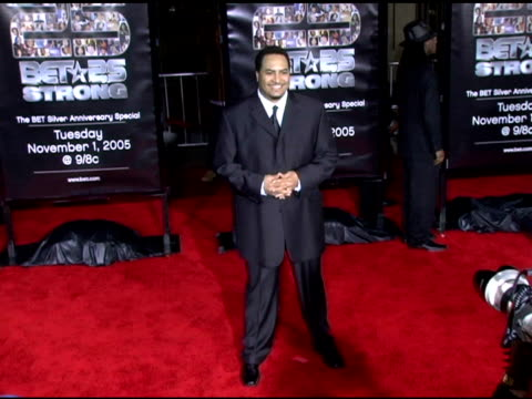 shang at the bet 25 strong silver anniversary special arrivals at the shrine auditorium in los angeles, california on october 26, 2005. - shrine auditorium stock videos & royalty-free footage