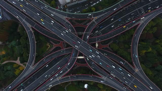 Shanghai aerial highway junction