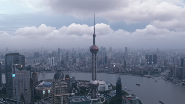 shanghai at dusk - the bund stock videos & royalty-free footage