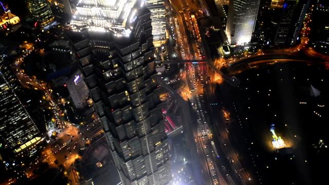 Shanghai at Night, Time Lapse