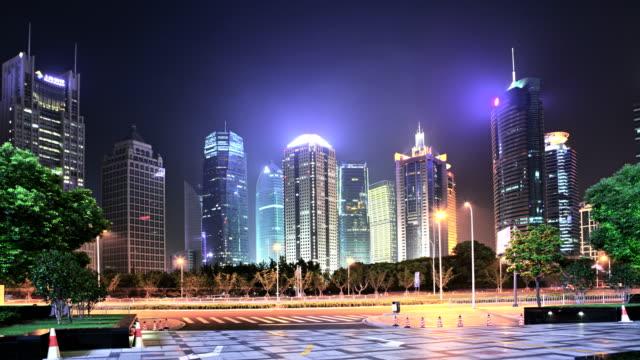 stockvideo's en b-roll-footage met shanghai zakenwijk - stadsdeel