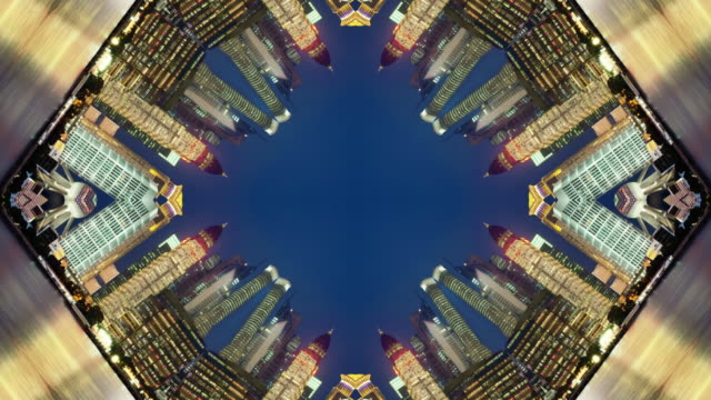 shanghai china - kaleidoscope pattern stock videos & royalty-free footage
