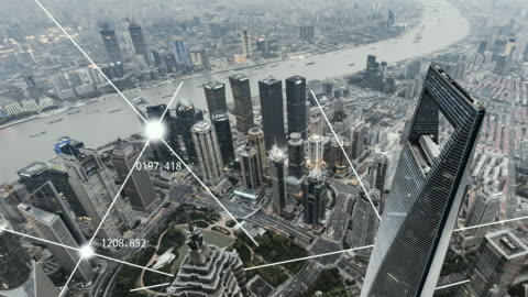 t/l ws ha td shanghai city network technology, day to dusk transition - on the move stock videos & royalty-free footage