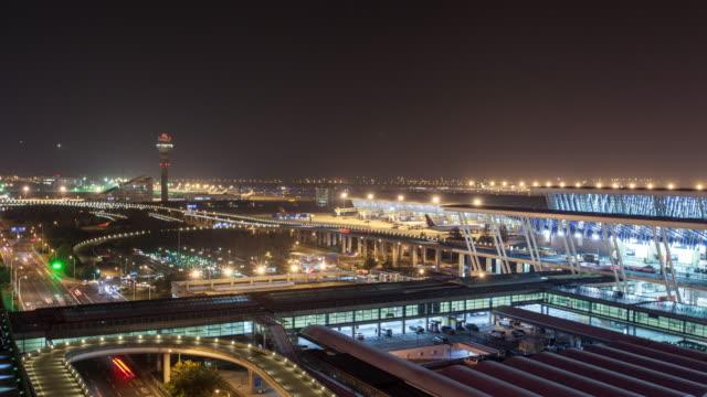 shanghai cityscape 4k Time Lapse