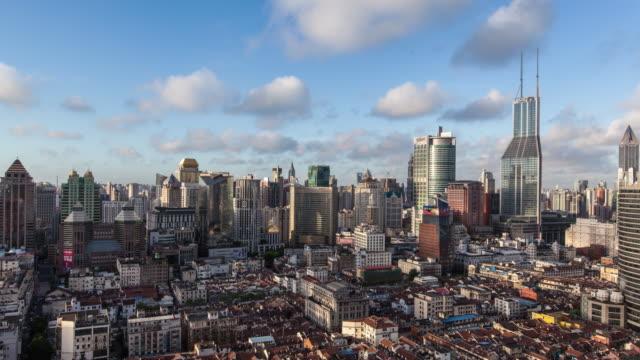 Shanghai cityscape, 4k timelapse,2016