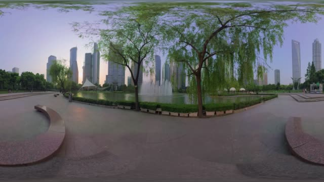 shanghai cityscape - ボトルオープナー点の映像素材/bロール