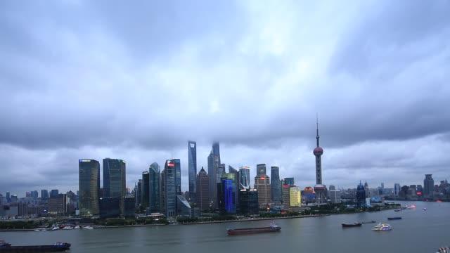 Shanghai in a cloudy day.