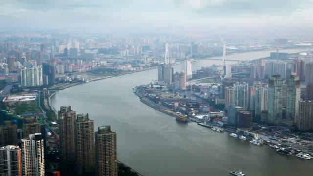 Shanghai in smog