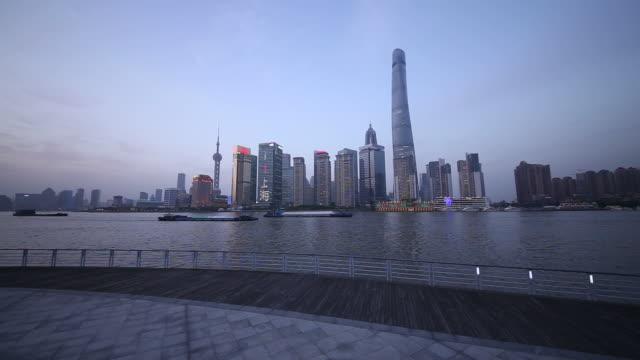 WS LA Shanghai Lujiazui Skyline