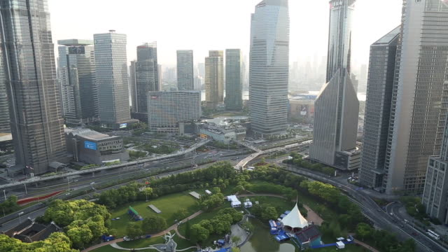 WS HA Shanghai Lujiazui Skyline
