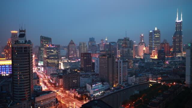 上海の夜景 - 24コマ撮影点の映像素材/bロール