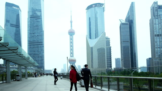 shanghai pudong area - shanghai stock videos & royalty-free footage