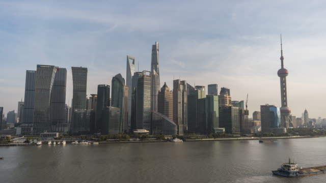 T/L ZI Skyline von Shanghai, tagsüber
