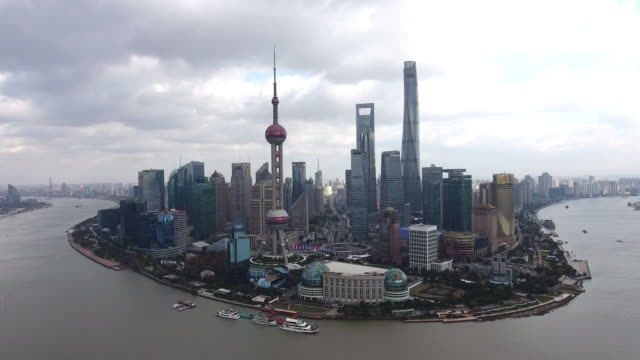上海の街並み - 鋼点の映像素材/bロール