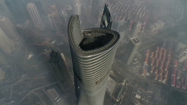 shanghai skyline view - shanghai stock videos & royalty-free footage